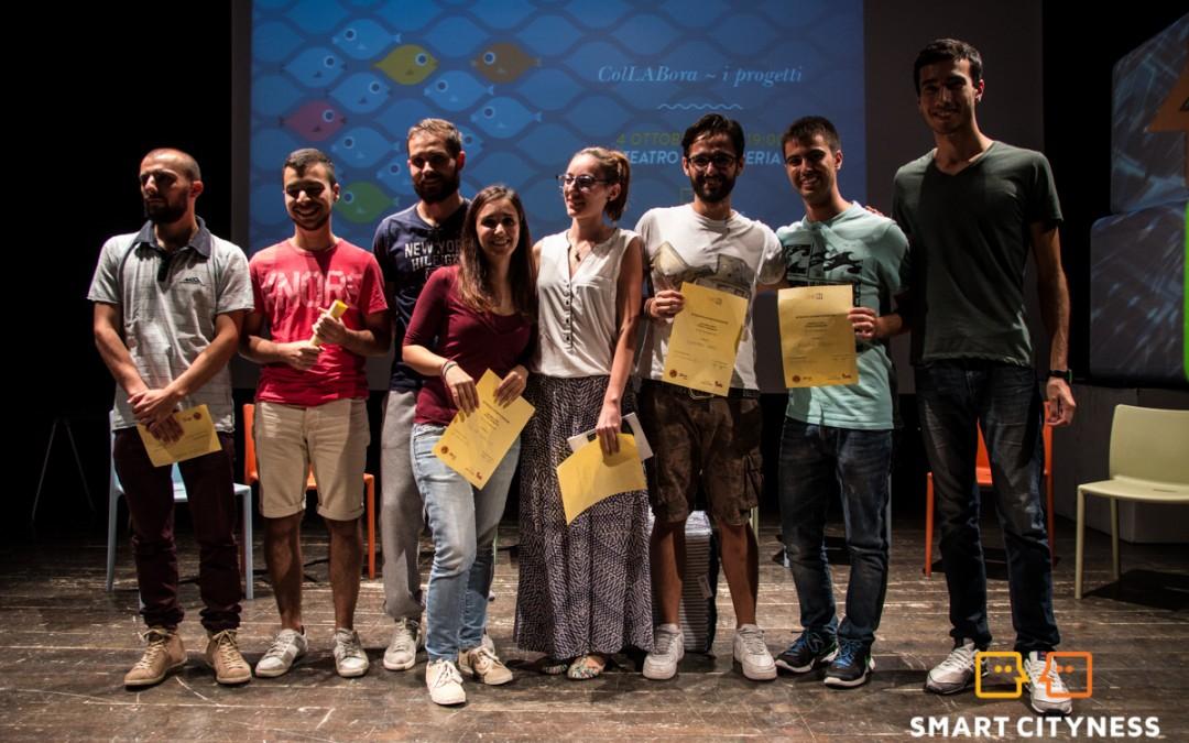La premiazione di ColLABora chiude la seconda edizione di Smart Cityness!